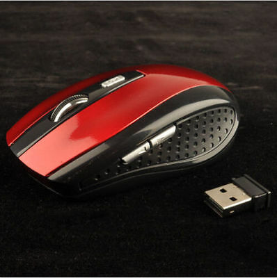 Neu New 2.4GHz Mice PC Computer For Optical Mouse USB Receiver Wireless Laptop