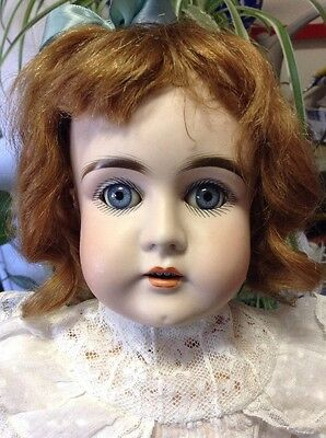 Antique German Doll 17 1/2 Inches Tall