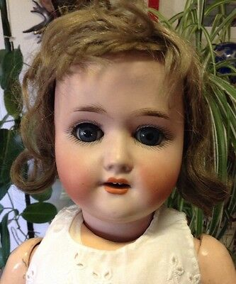 Antique German Doll 18 1/2 Inches Tall