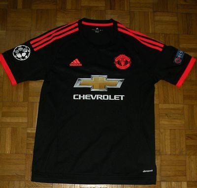 "Manchester United 2015/2016 Champions League Nike ""M"" Shirt Football Jersey"