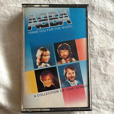 ABBA Thank You For The Music A Collection Of Love Songs Cassette Tape Album 1983
