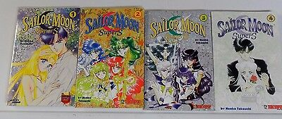 Sailor Moon Super S by Naoko Takeuchi books 1-4