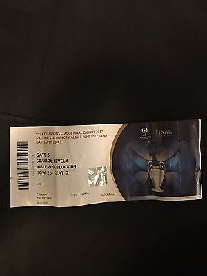 Ticket UEFA Champions League Finale 2017 Real Madrid vs Juventus Turin Final