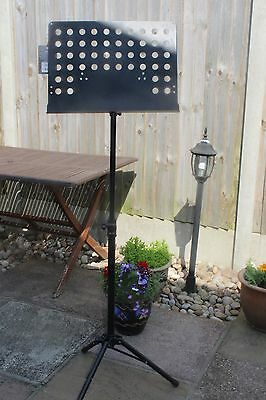 Stagg Proffesional Sheet Music Stand Black