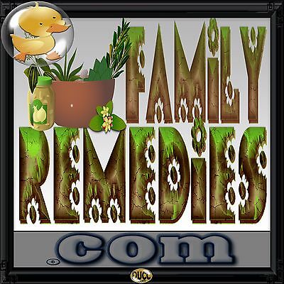 FamilyRemedies.com Great Domain for Natural Healing, Health, Nutrition, Vitamins
