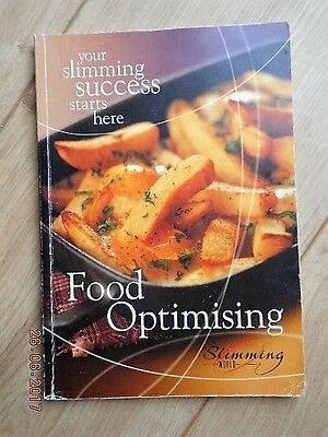 Slimming World 2006 Starter Pack Book Food Optimising Red Green Plan Only Vgc!