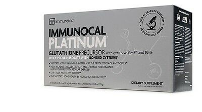 Immunocal Platinum  Whey Protein Isolate The Top Healthcare Supplement! 30