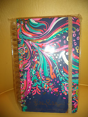 Lilly Pulitzer Large 17 Month Agenda August 2017 - December 2018 Beach Loot F/s*