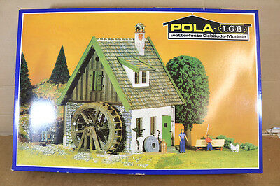 POLA LGB 935 G SCALE VILLAGE WATER MILL BUILDING MODEL KIT BOXED nk