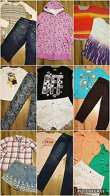 Girls Clothes Sz 14/16 Justice Back To School Outfits Jeans Lot Of 20 Pc