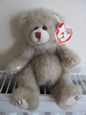 """""""DICKENS"""" TY ATTIC TREASURE BEAR,Pot Bellied,4th Gen Rare & Retired Collectable."""
