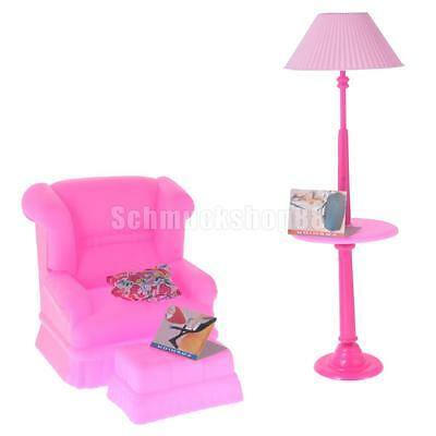 barbie mattel wohnzimmer spielset neu eur 6 00. Black Bedroom Furniture Sets. Home Design Ideas