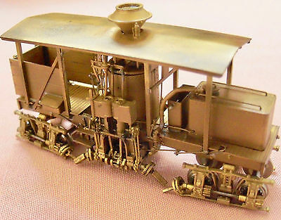 HOn3 BRASS NWSL 13 Ton Shay Vertical Boiler Style model  #6-02 unpainted