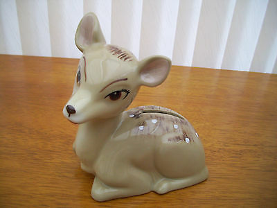 fawn wade money box rare and perfect original
