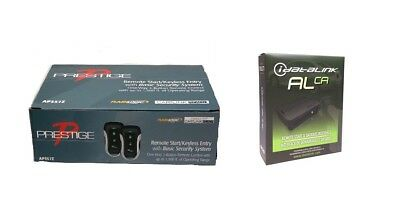 NEW! Prestige Car Remote Start System 2 Remotes APS57E + ADS-ALCA Bypass Module