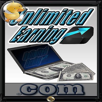 UnlimitedEarning.com  Perfect for Sales Programs, Staffing, Stocks, Investments!