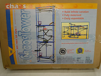 World Of Motion Motorized Chaos Tower Marble Education Activity Model #81002 NEW
