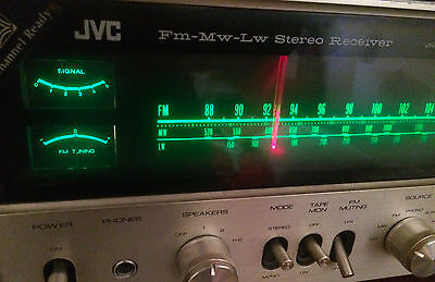 Jvc Vr 5525L 4 Channel Ready Fm Mw Lw Stereo Receiver Quadrophonic Vintage Rare