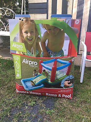 Airpro Bouncy Castle with Slide and Pool ! Swimming Pool For Kids! Outdoor