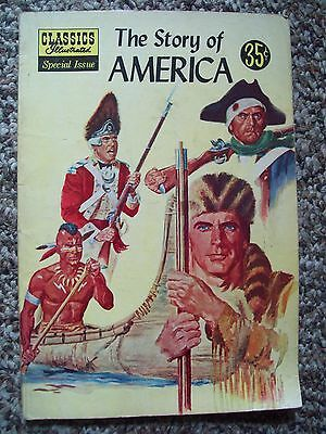 Classics Illustrated Special Issue #132A 1956  Comic The Story of America VG