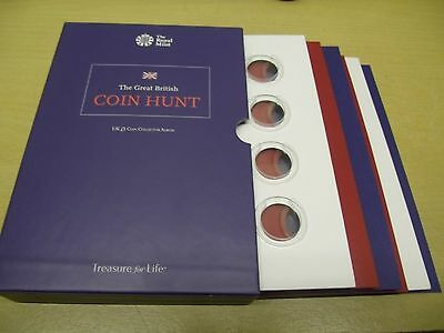 £1 One Pound Coins Collector Album, Great British Coin Hunt, Royal Mint