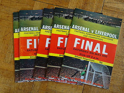 Arsenal v Liverpool FAC Final May 8th 1971 FREE POSTAGE