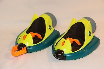 Planet Heroes Turbo Shuttle Space Pods Neon 2007 Fisher Price Replacements