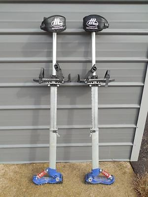 "Marshalltown Drywall Stilts 24"" - 40"" Adult One Size Fits Most"