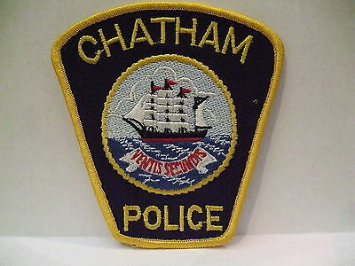 police patch  CHATHAM POLICE NEW BRUNSWICK CANADA