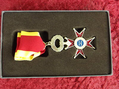 Order of St. Gregory the Great Vatican 1831 with case and ribbon
