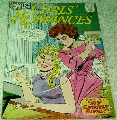 Girls' Romances 89, (FN+ 6.5) 1963, 35% off Guide