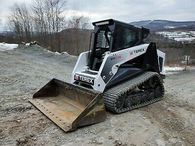 Asv Pt100 Track Skid Steer High Flow Forestry Mulcher Ready 2 Work In Pa We Ship