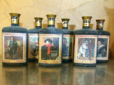 6 Collectible Jim Beam Bottles From 1960s