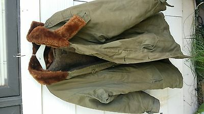 vintage us army air force parka jacket B-11 size 38