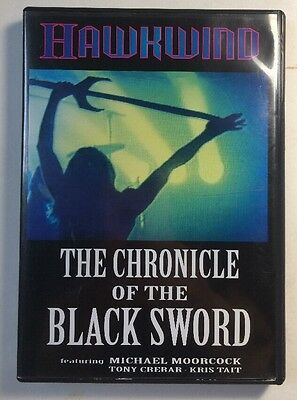 Hawkwind The Chronicle Of The Black Sword W/ Michael Moorcock Dvd Region Zero