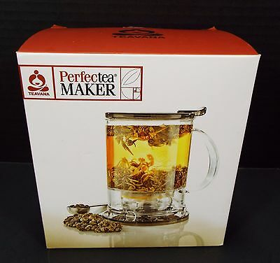 Teavana Perfectea Tea Maker Infuser for A Perfect Cup of Tea Every Time NEW!