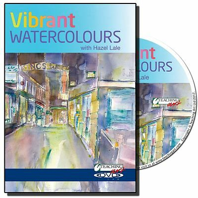 DVD - Vibrant Watercolours with Hazel Lale (Painting Art Instruction)
