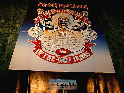 Iron Maiden The First Ten Years Up The Irons 1980-1990 Poster 16X23 Inches Rare