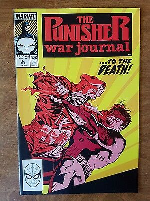 Punisher War Journal #5 Marvel April 1989 Mint Combine Shipping Rates