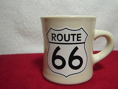 Historical Route 66 Heavy Restaurant Style Coffee Cup Mug