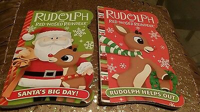 Rudolph The Red Nose Reindeer Helps Out and Santa Claus Big Day