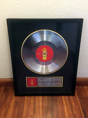 "The Beatles 1 ""1"" One EMI Music Sales Award - Under License from RIAA"