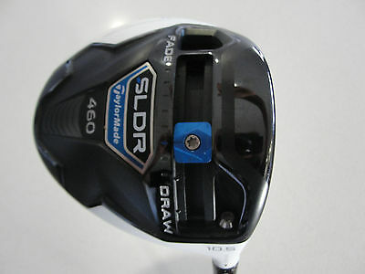 Taylormade Sldr White 460 10.5* Driver Fujikura Pro 60 Regular With Headcover