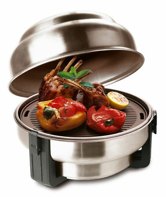 SAfire Portable Cooker Stainless Steel Charcoal BBQ Grill Roaster