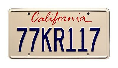 Knight Rider | '08 Mustang Shelby GT500KR | 77KR117 | STAMPED Prop License Plate