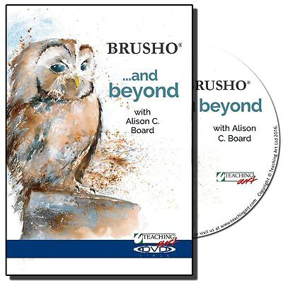 DVD - Brusho and Beyond with Alison C. Board