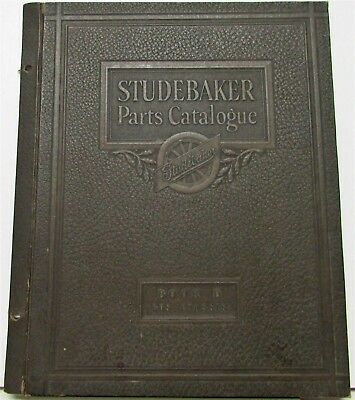 Vintage Studebaker Parts Catalogue Book D Bus Chassis COVER ONLY Original