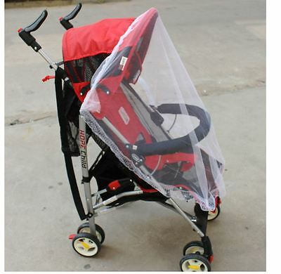 Mosquito Net Stroller Infants Baby Safe Mesh White Bee Insect Bug Cover Screen