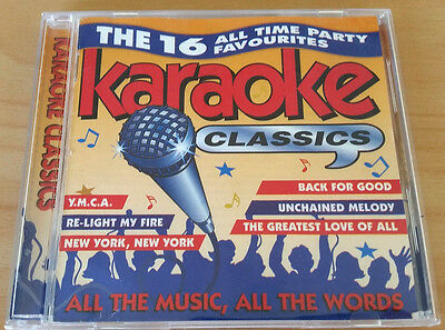 Karaoke Classics The 16 All Time Party Favourites CD