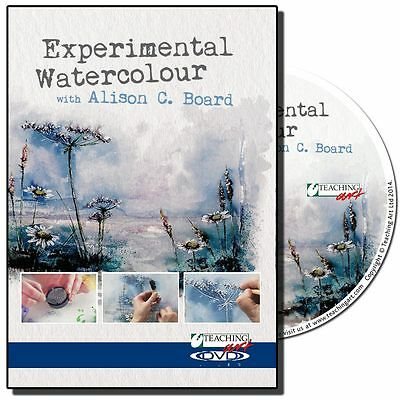 DVD - Experimental Watercolour with Alison C. Board